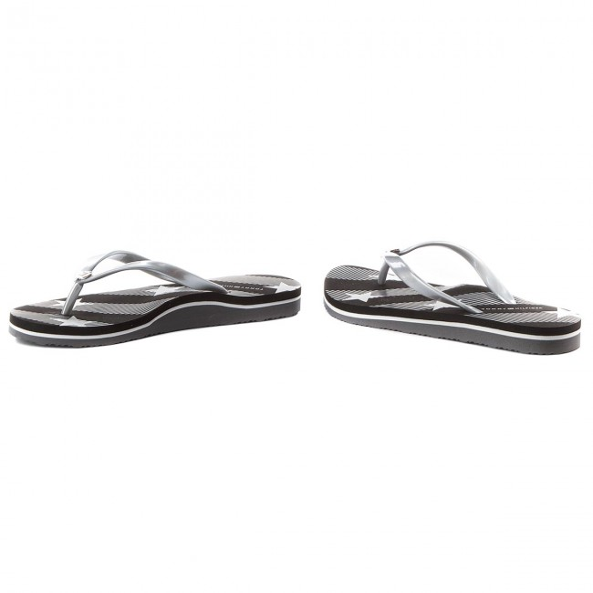 7e1d3fd615e Chanclas TOMMY HILFIGER - Stars And Stripes Beach Sandal FW0FW02384 Black  990