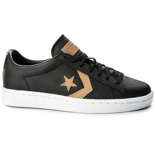 Pl Ox Black 155667c tan Converse Sneakers 78 black yvm0n8wNO