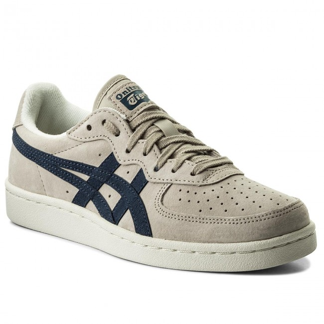 Zapatillas ASICS - ONITSUKA TIGER Gsm D5K1L  Feather Grey/Dark Blue 1249 - Zapatillas - Zapatos - Zapatos de mujer
