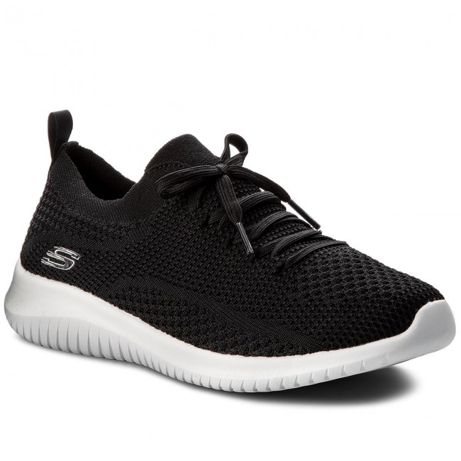 12841 white Sneakers Black Skechers Statements bkw fgb6yI7Yv