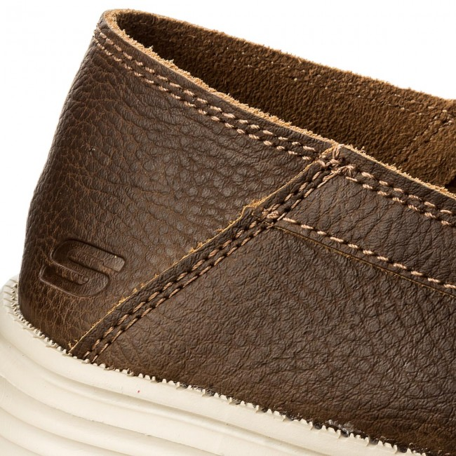 brn Brown Breson 65505 Skechers Mocasines kZPuOXTi