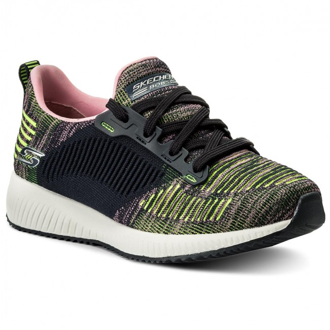 Zapatos Skechers - Bobs Squad 31361/ccor Nvy/pnk 08NsF3Wx