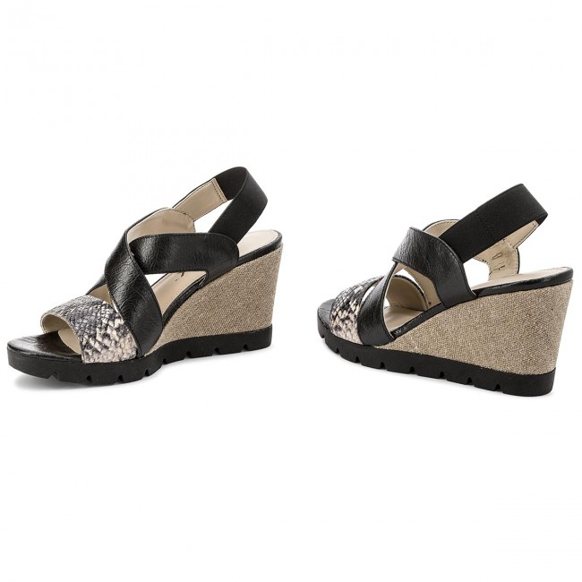 B606 39 Sandalias Came Lot Flexx black Roccia The k8PZwXnON0