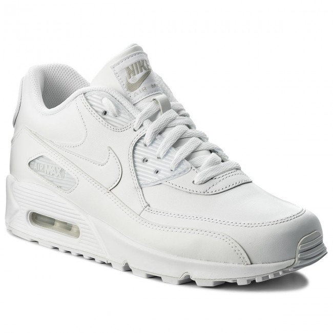 d4d3bd33233 Zapatos NIKE - Air Max 90 Leather 302519 113 True White True White ...