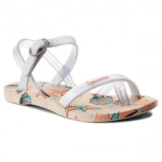 eb57e6a30 Chanclas IPANEMA - Fashion Sand. V Kids 82292 Beige White 21010 ...