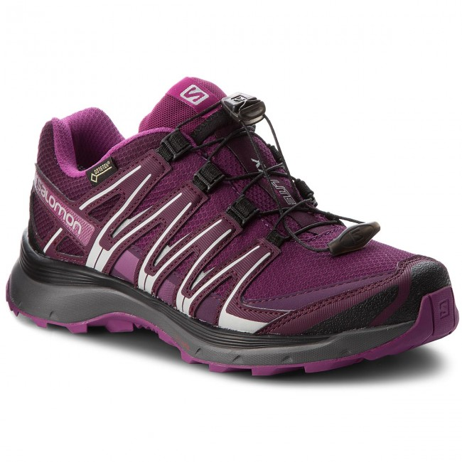 Zapatos W Purple Dark V0 Tex Lite 21 Salomon Gtx Xa Gore 406106 BrnUHB6