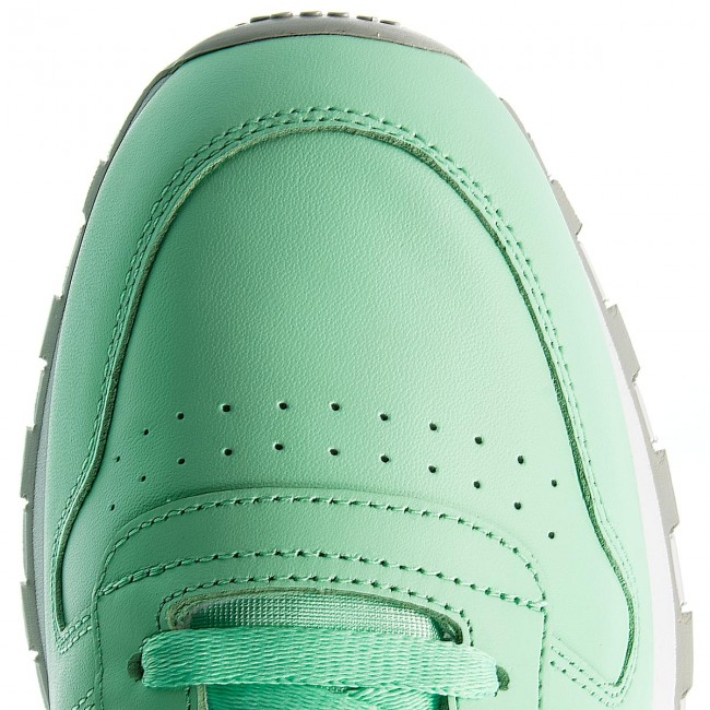 white ReebokCl es De Green Hombre Leather Sneakers Cn5382 Zapatos Zapatos grey Mu Digital L43j5AR