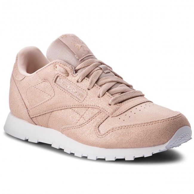 beige whit Zapatos Gold Cn5586 Classic Leather Reebok Rose qSVzMUp