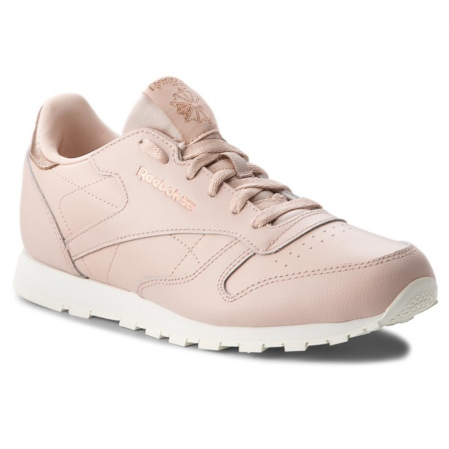 Reebok Beigechalk Zapatos Classic Bare Leather Sneakers Cn5560 Tdfqwd