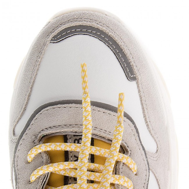 Sneakers yellow silver 1525 White a 2299 66167 Bronx Bx D9I2WHYE