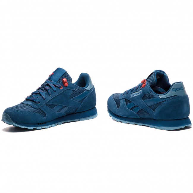 e851bb5423340 Zapatos Reebok - Classic Leather CN4703 Blu Blue Slate Primal Red ...