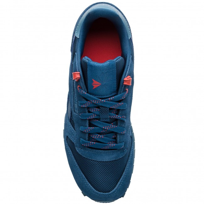 66eb34d9e9895 Zapatos Reebok - Classic Leather CN4703 Blu Blue Slate Primal Red - Sneakers  - Zapatos - Zapatos de mujer - www.zapatos.es