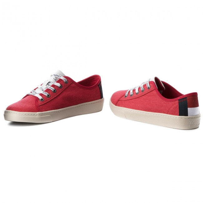 Textile Tenis Tommy Jeans En0en00229 Light 645 Low Red tdCsoQrhxB