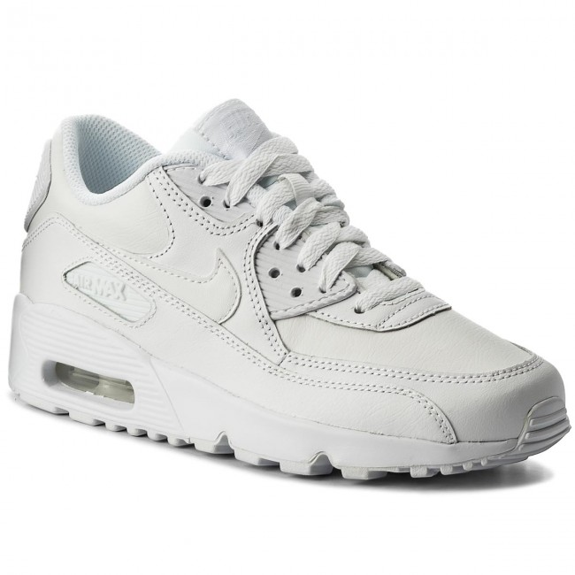 5f8057e5267 Zapatos NIKE - Air Max 90 Ltr (GS) 833412 100 White White - Sneakers ...