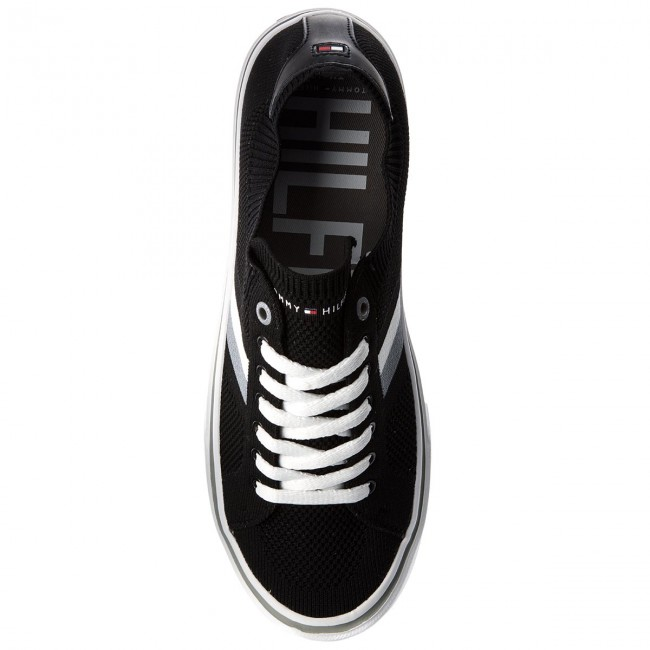 Corporate 990 Fm0fm01619 Tommy Lightweight Sneaker Tenis Hilfiger Black ukTPOXZi