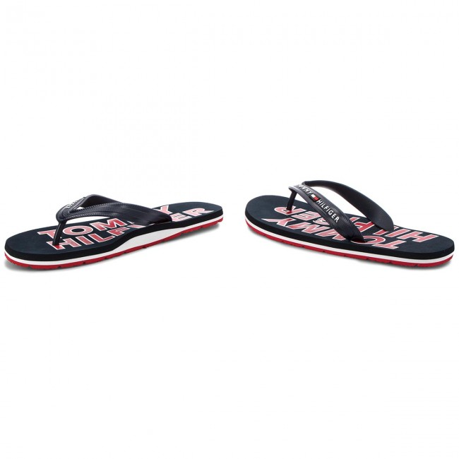 Chanclas Fm0fm01673 Midnight Hilfiger Tommy Sporty Sandal 403 Beach l31TuFKJ5c