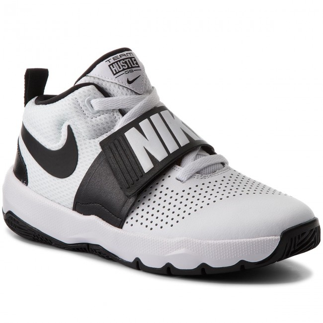 15e7d388 Zapatos NIKE - Team Hustle D 8 (GS) 881941 100 White/Black ...