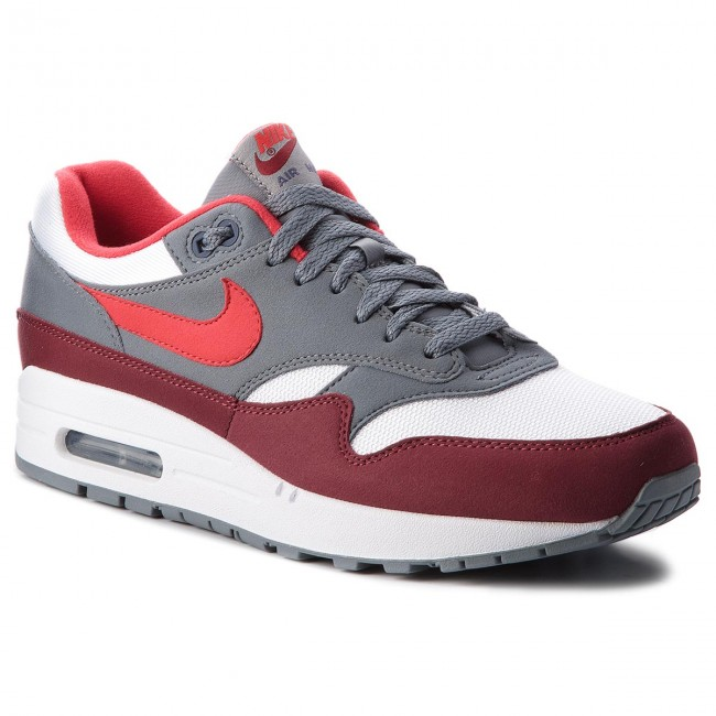 best service d7ef1 61d9d Nuevo descuento Zapatos NIKE - Air Max 1 AH8145 100 White University  Red Cool