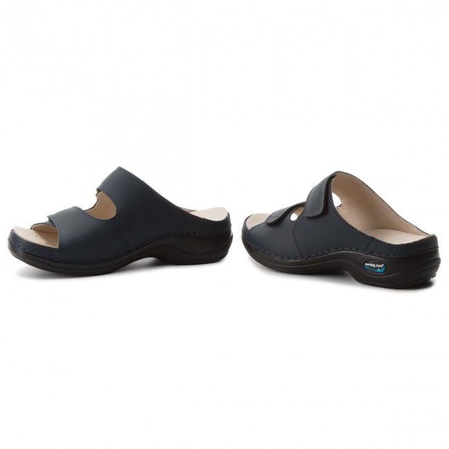 Nursing Dark Blue Wg803 Viena Care Chanclas c5S4jqARL3