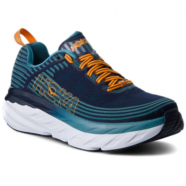 Bondi Iris Zapatos 6 1019269 Black One Blue storm Hoka 80NOwmnv