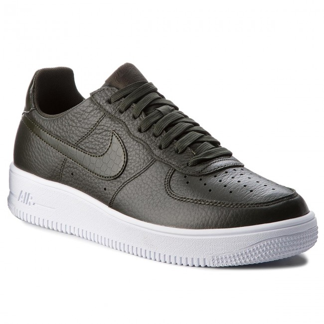 best sneakers 0baed 9e8ee Zapatos NIKE - Air Force 1 Ultraforce 818735 300 Sequoia/Sequoia/White