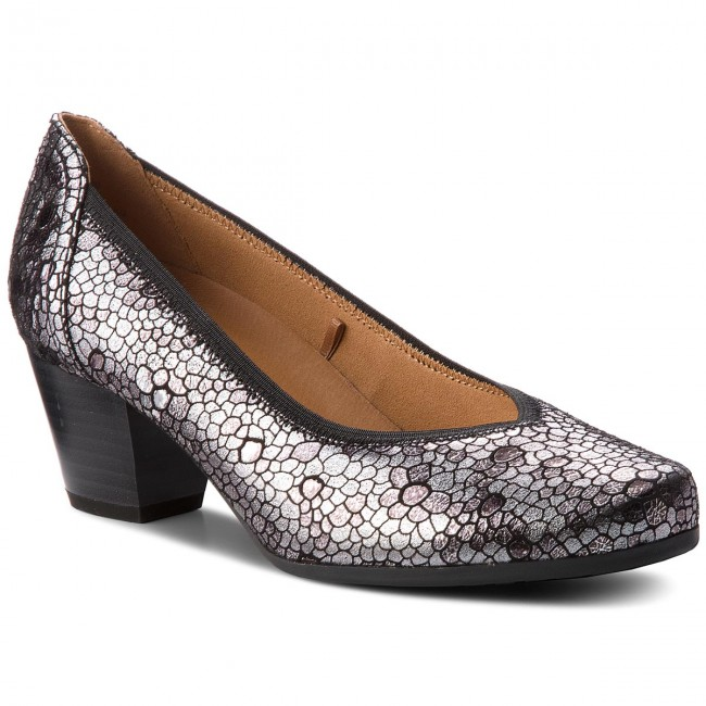 foil Silver 990 Me Zapatos 22304 21 Caprice 9 Yyb6fg7