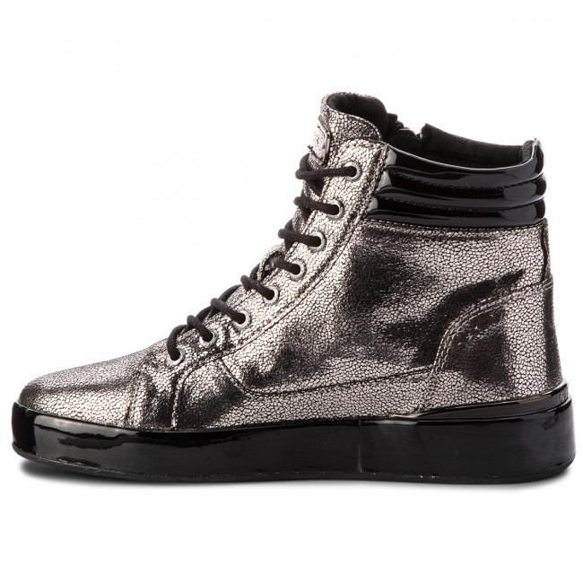 Sneakers Pewte Sneakers Guess Guess Lel12 Sneakers Flvnd3 Flvnd3 Lel12 Pewte vgyYbf76