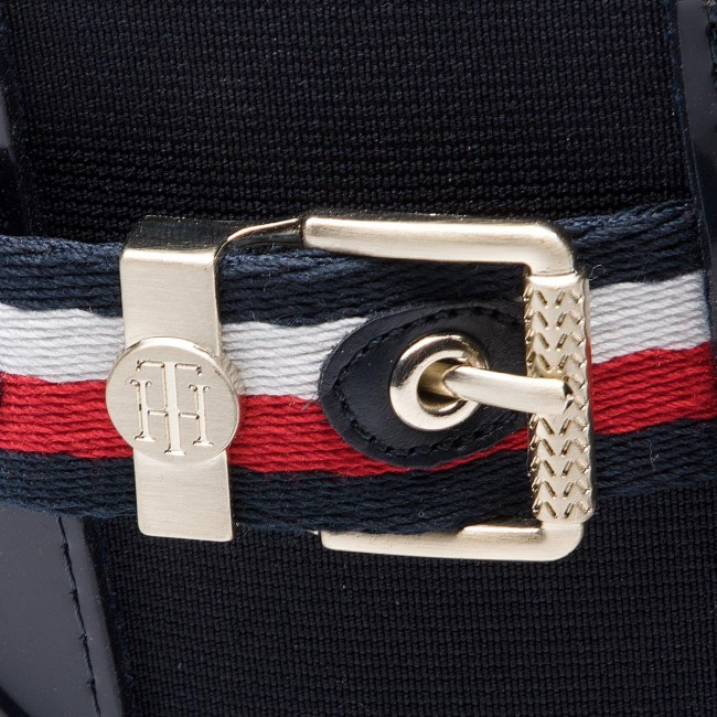Agua Midnight Belt Botas Corporate Fw0fw03329 Hilfiger De Rain 403 Tommy 0m8vNwOn
