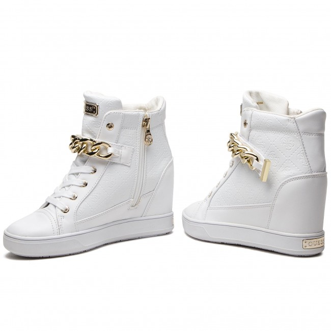Sneakers Sneakers Guess White Flflr4 Fal12 Guess Sneakers Guess White Fal12 Fal12 Flflr4 Flflr4 thdsrCQ