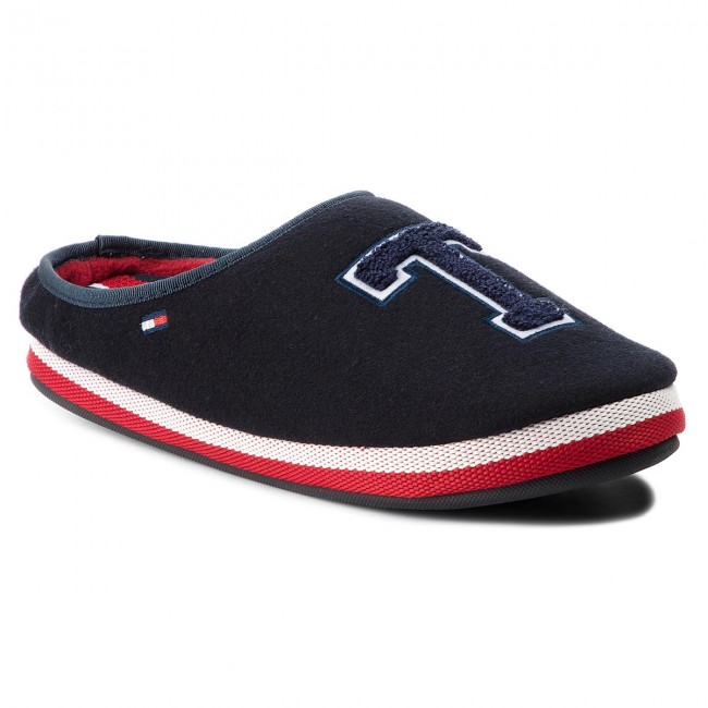Homeslipper Hilfiger Badge Fm0fm01786 Tommy 403 Midnight Pantuflas XuPikZ
