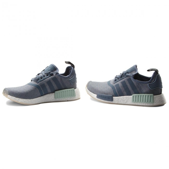 Zapatos adidas - White Nmd_R1 W CQ2013 Steel/Steel/Cloud White - - Zapatillas - Zapatos - Zapatos de mujer 572bfb