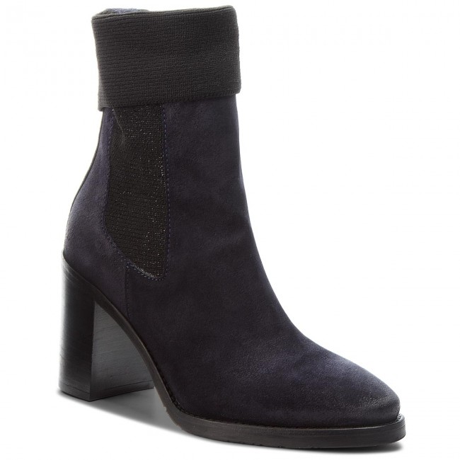 Midnight Heeled Tommy Sock Botas Hilfiger Knitted 403 Fw0fw03442 uiPZkX
