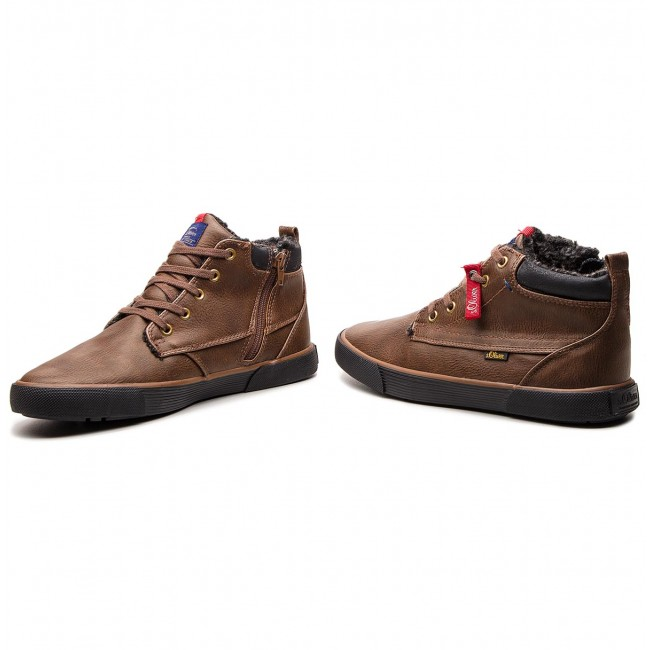 Sneakers Brown 21 S oliver 16230 300 5 PXuTOiZkw