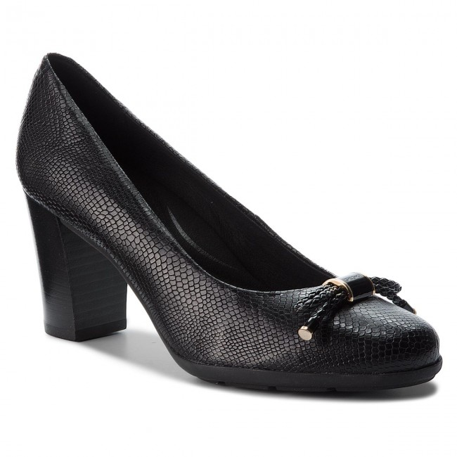 Nuevo descuento Zapatos GEOX - D Annya A D845FA 0009D C9999 Black - Zapatos de tacón - Zapatos - Zapatos de mujer