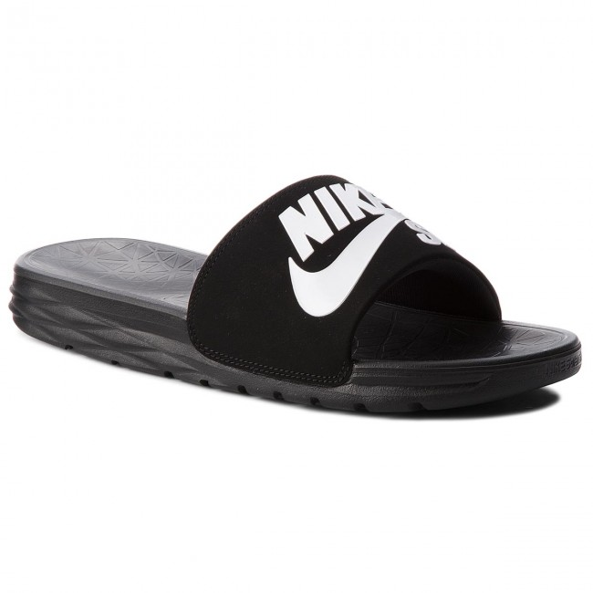 best website c8d2a 8bdd7 Chanclas NIKE - Benassi Solarsoft Sb 840067 001 BlackWhite