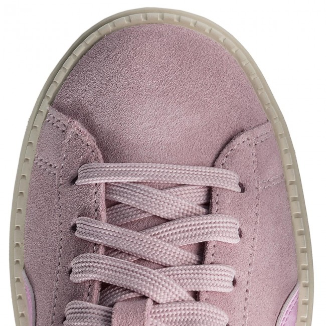 Zapatos Jr Orchid Platform Pumasuede 02 Trace Mujer Winsome YImb76gvfy