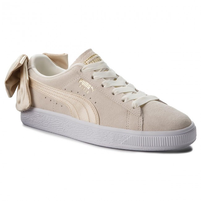 09559fc7 Sneakers PUMA - Suede Bow Varsity Wn's 367732 03 Marshmallow/Metallic Gold