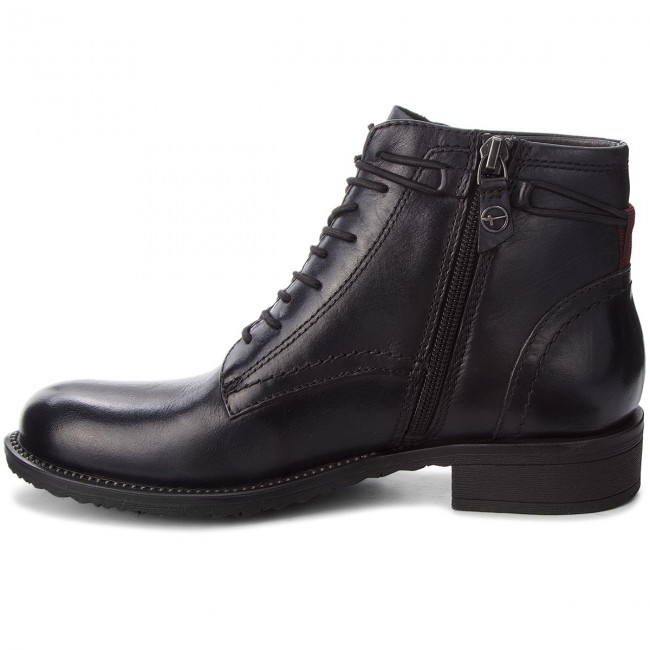 Tamaris 1 21 Leather 25211 003 Botas Black ZuPXOTkiw