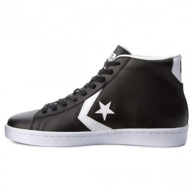 Zapatos Leather Mid De white Sneakers 76 Black es Hombre 157717c ConversePro white Zapatos Y7ybf6g