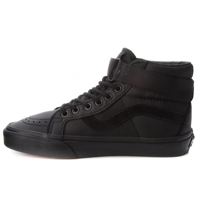 Reissue es black Zapatos Sneakers VansSk8 hi De Mujer Zapatos Vn0a3qy2ub4leatherBallistic HYE2Ie9WD