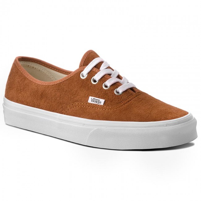 Zapatillas de tenis VANS - Authentic VN0A38EMU5K (Pig Suede) Leather Brown - Zapatillas tenis - Zapatos - Zapatos de mujer