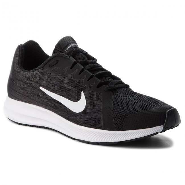 Zapatos NIKE - Downshifter 8 (GS) 922853 001 Black White Anthacite ... f25a37eacbe29