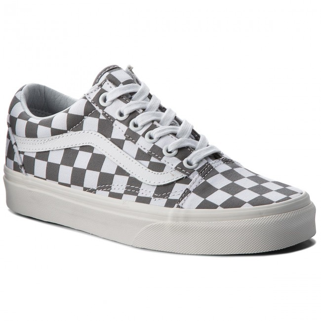 Zapatillas de tenis VANS - Old Skool VN0A38G1U53 (Checkerboard)  Pewter Marshmallow c3863a4bd78