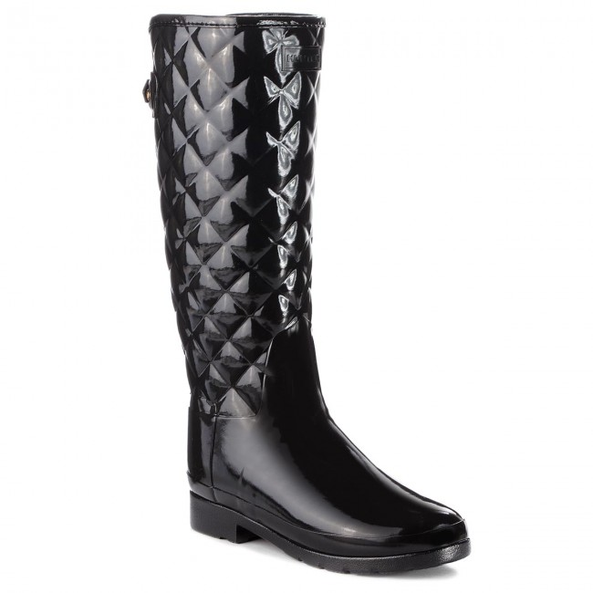 5d5402b23 Botas de agua HUNTER - Original Refined Quilted Gloss WFT1031RGL ...