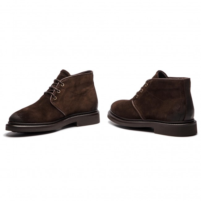 300 25026102 Marc 808 790 O'polo Botines Brown Dark QdhrCBtsx