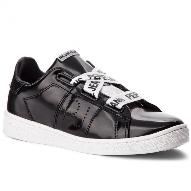 JeansBrompton Sneakers Black Laces Mujer es Zapatos De Pls30735 Pepe 999 Zapatos sxQrdCBtoh