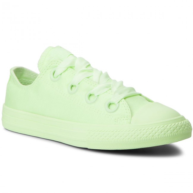Eyelets Converse Ctas Zapatillas Volt Big barely Volt 661876c Ox Barely mNvw8n0O