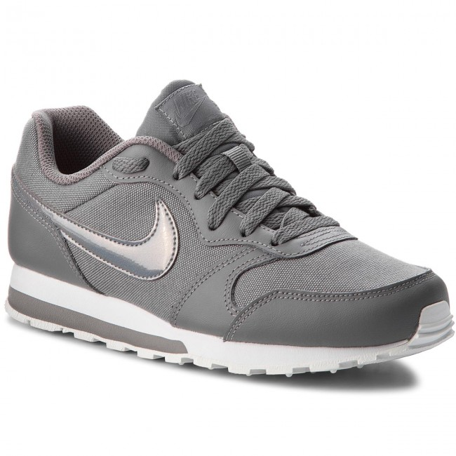 Nuevo descuento Zapatos NIKE - Md Runner 2 (GS) 807319 014 Gunsmoke/Gunsmoke/White - Zapatillas - Zapatos - Zapatos de mujer