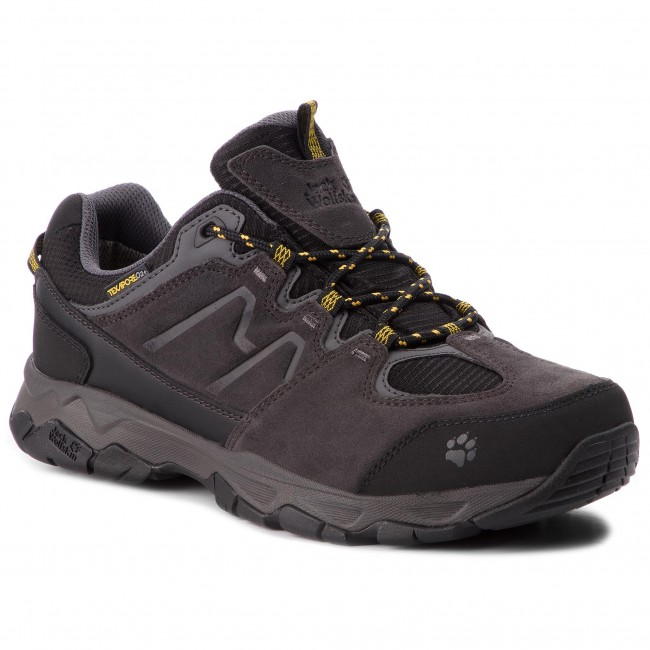 Montaña 4017582 Attack Botas Texapore De Yellow Jack Low M Wolfskin Burly 6 Mtn qMSVzpU
