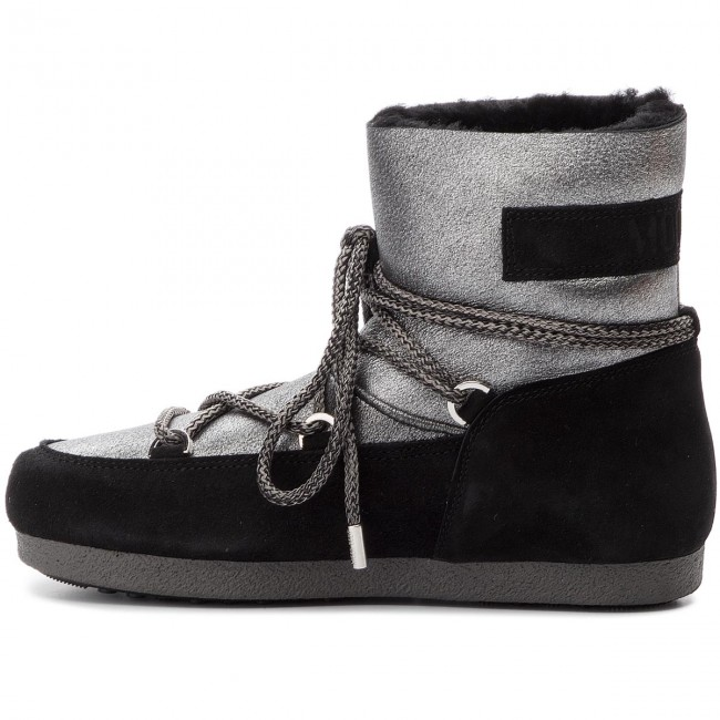 De Moon Sh Botas Nieve Boot F Low Silver 24200400002 black side Stard lFJTc3K1